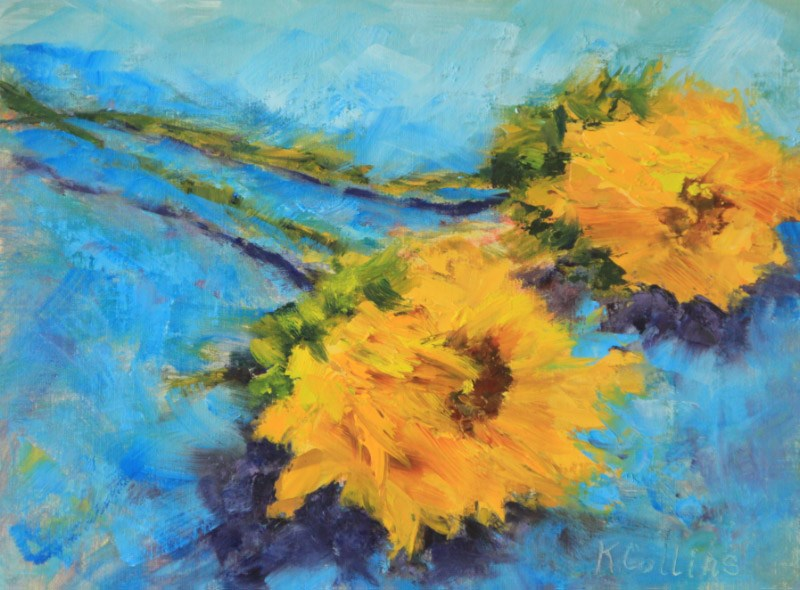 """For You"" original fine art by Kathy Collins"