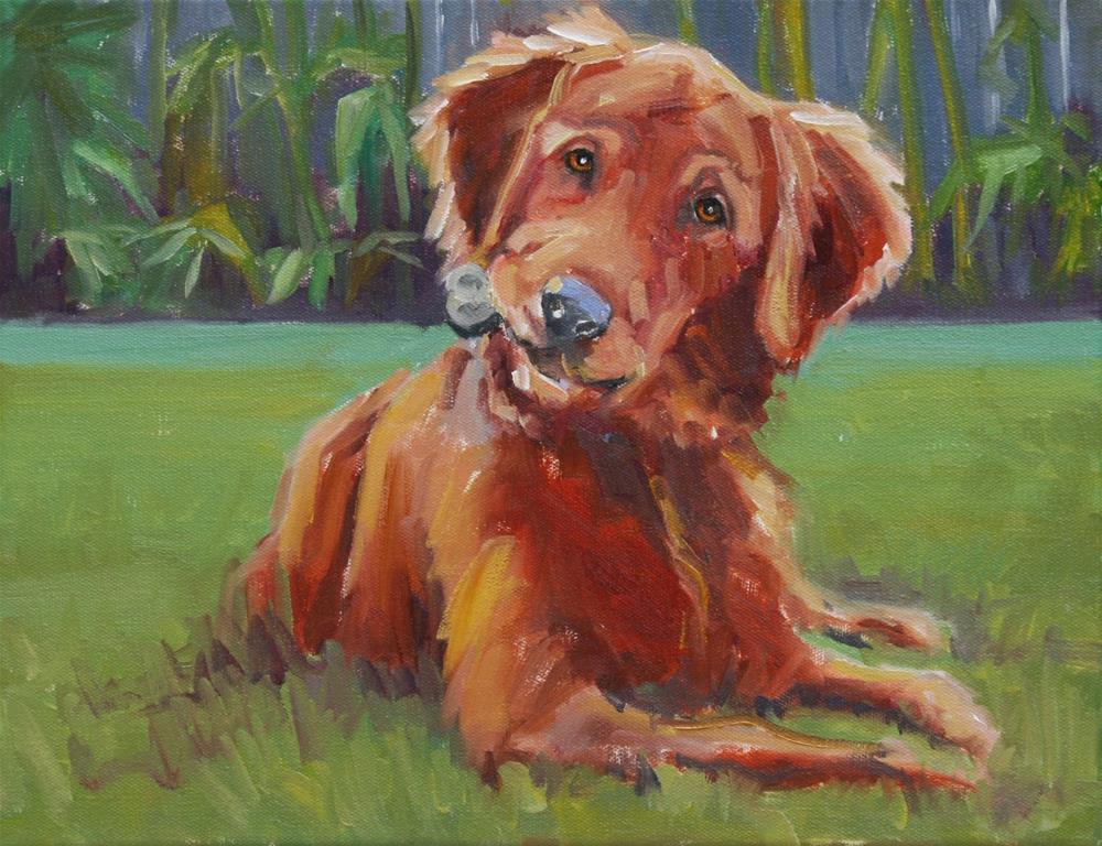 """""""maddie"""" original fine art by Carol Carmichael"""