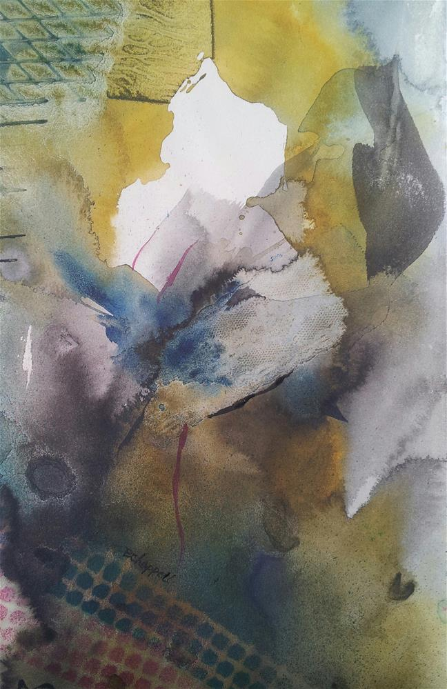 """Soft Bloom"" original fine art by Becky Chappell"
