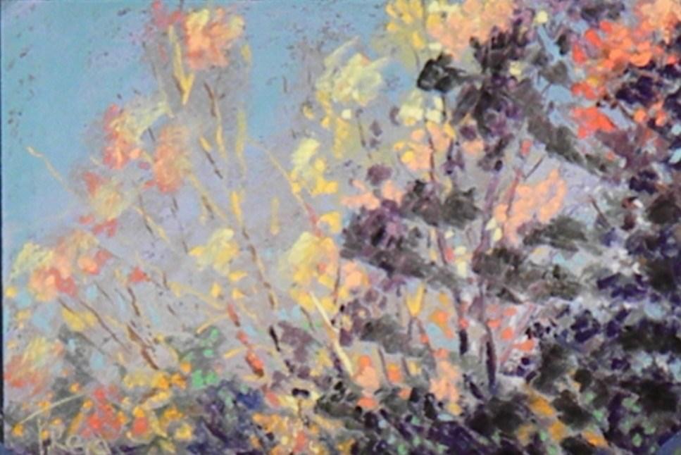 """Mixed Light"" original fine art by Toby Reid"