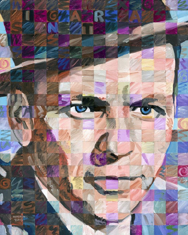 """Frank Sinatra"" original fine art by Randal Huiskens"