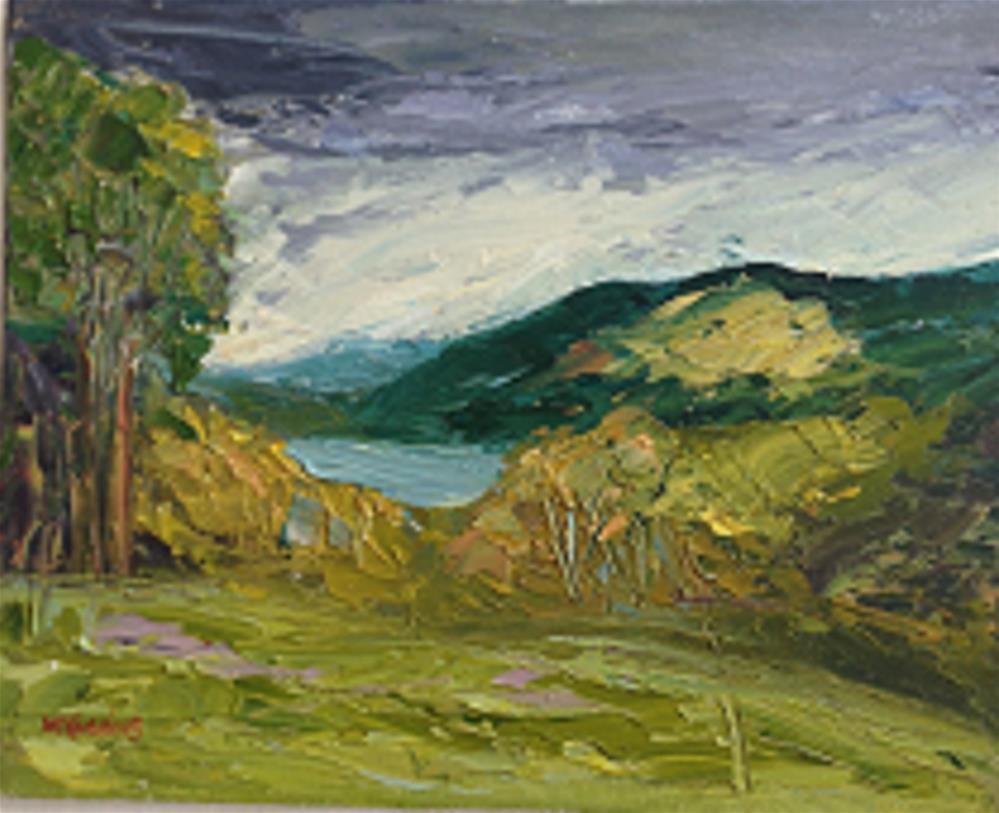 """Wcklow"" original fine art by Marie O' Higgins"