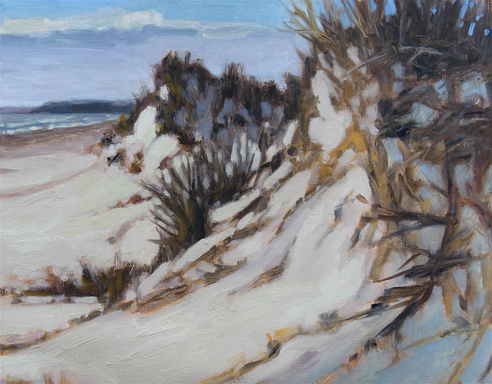 """Big Dunes"" original fine art by Colleen Parker"