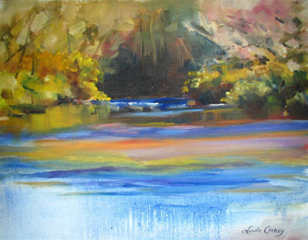 """Springtime in Sedona"" original fine art by Linda Carney"