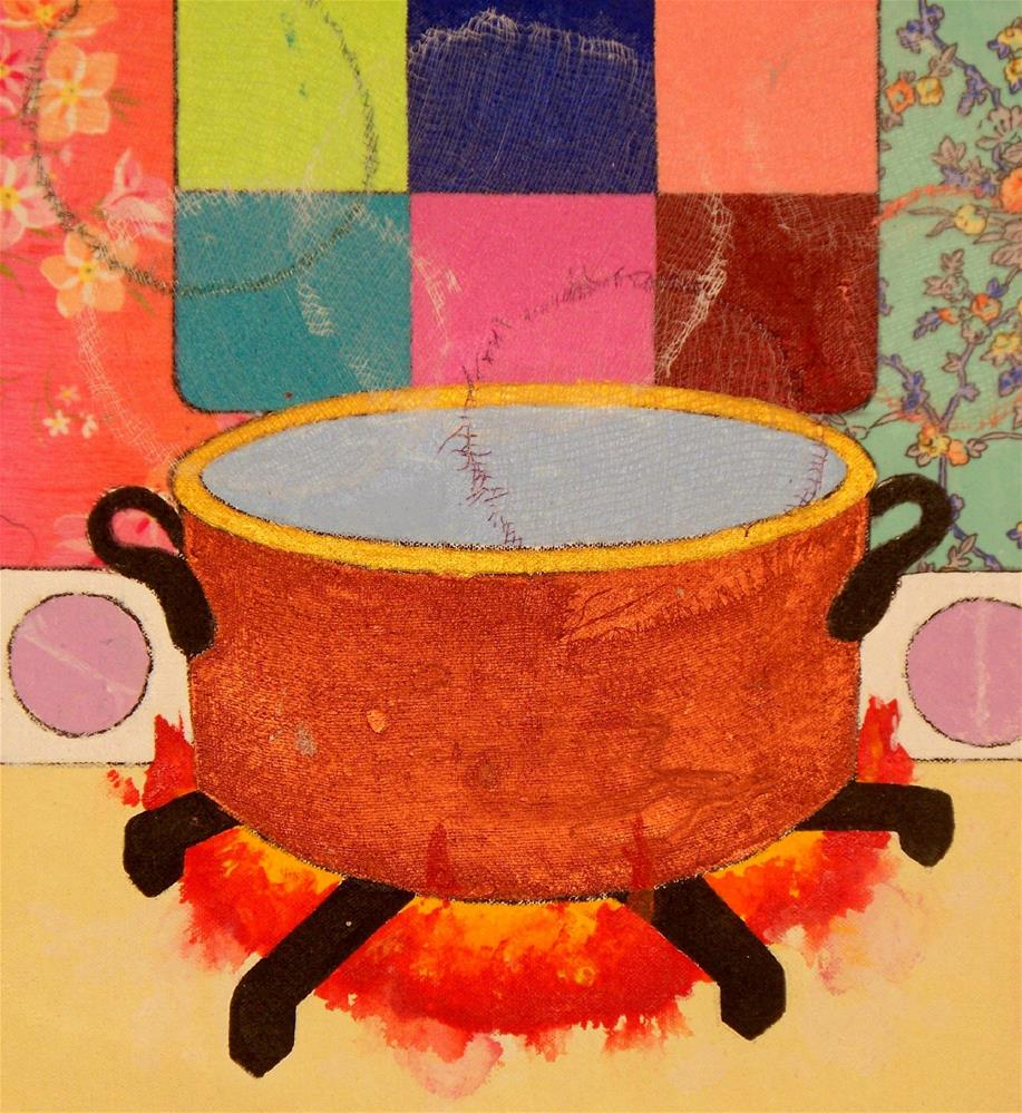 """Copper Pot"" original fine art by Lisa Fulton"