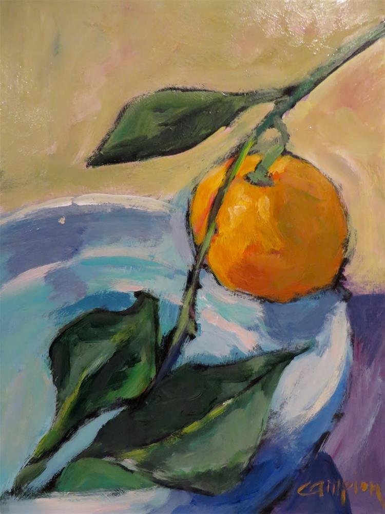 """736 Tightrope"" original fine art by Diane Campion"