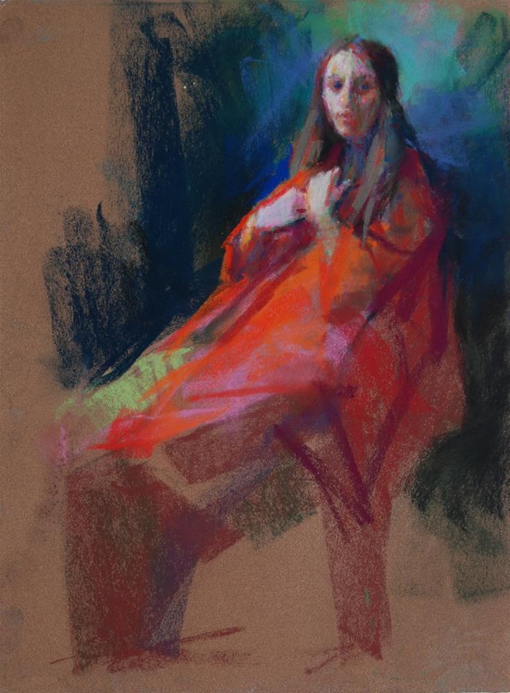 """Rosaria"" original fine art by Margaret Dyer"