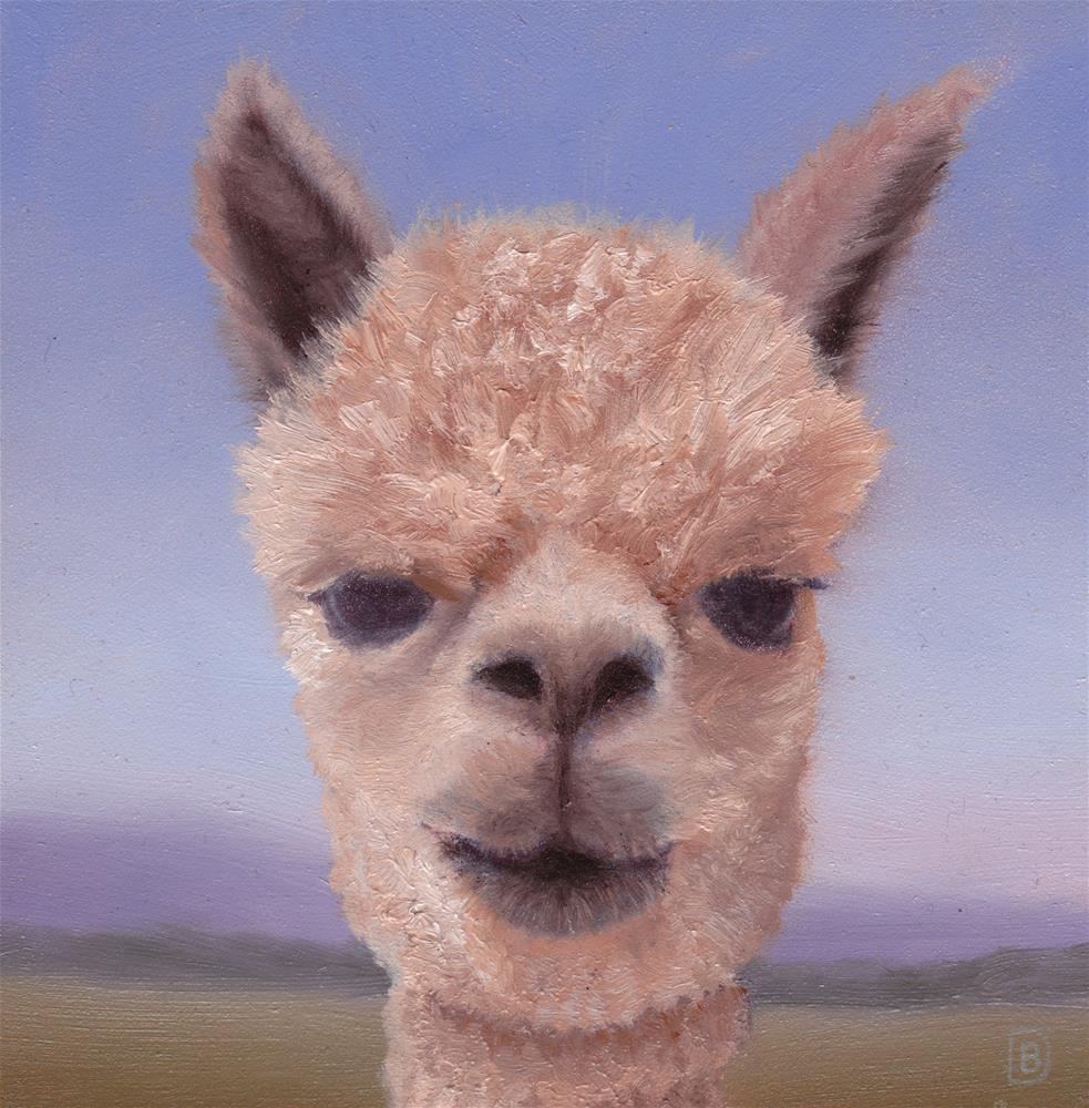 """You Can Call Me Al (Paca)"" original fine art by Brie Dodson"