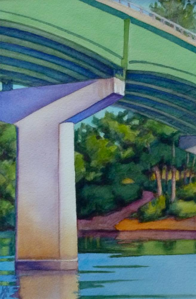 """Singing Bridge"" original fine art by Mark Allison"