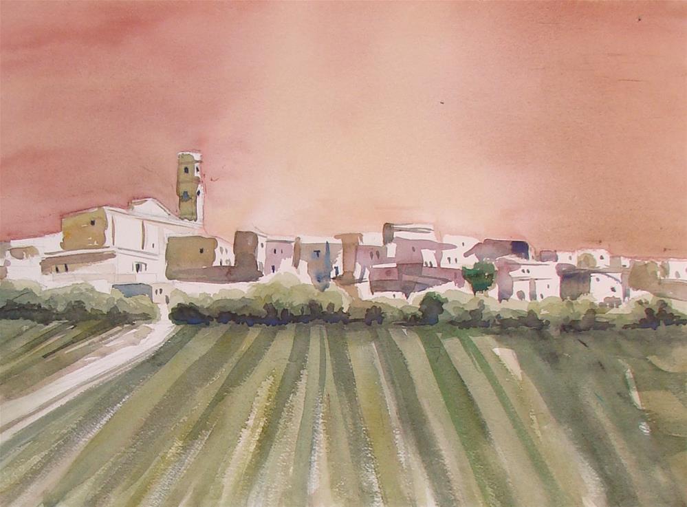 """""""Italy VI"""" original fine art by Vito Cagnazzo"""