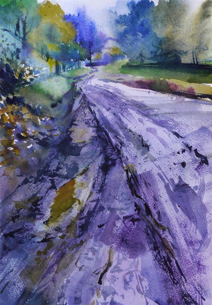 """mud"" original fine art by Beata Musial-Tomaszewska"