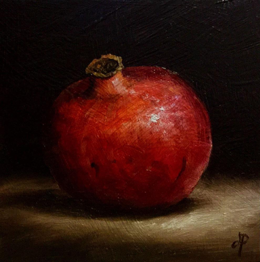 """""""Pom"""" original fine art by Jane Palmer"""