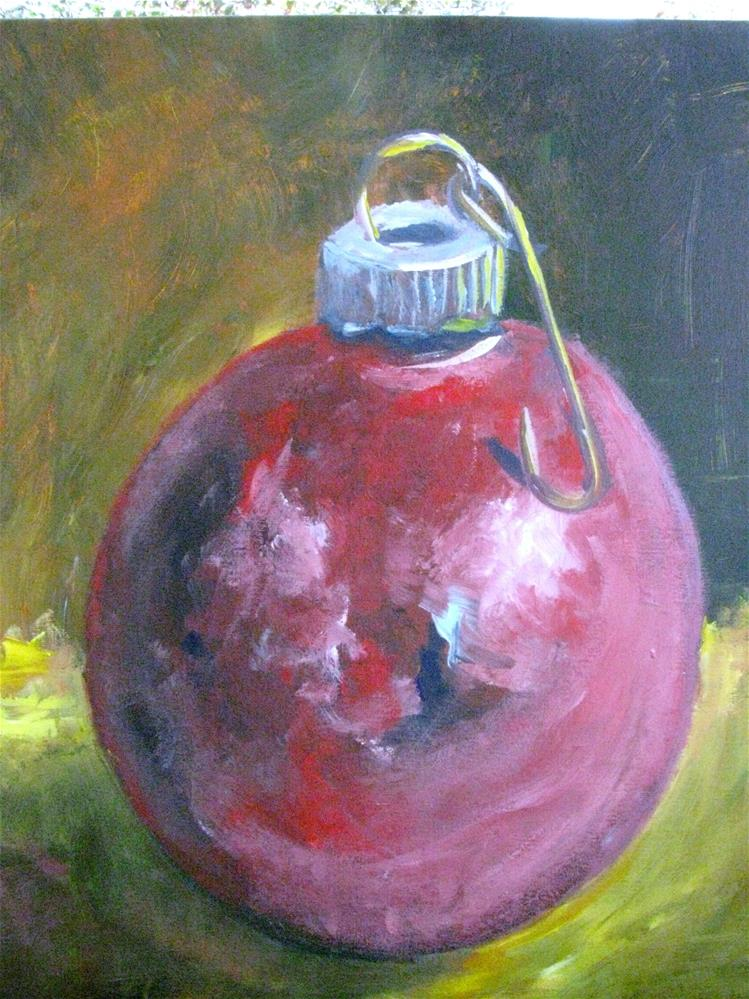 """Shiny Ornament"" original fine art by Susan Elizabeth Jones"