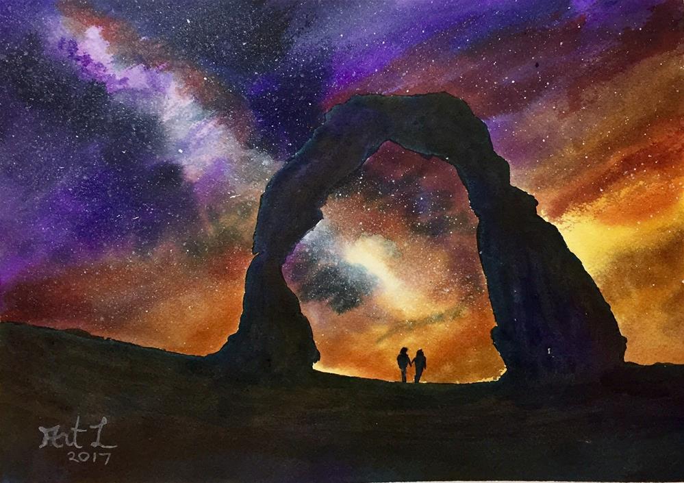 """""""Chapel Rock"""" original fine art by Art Livingston"""