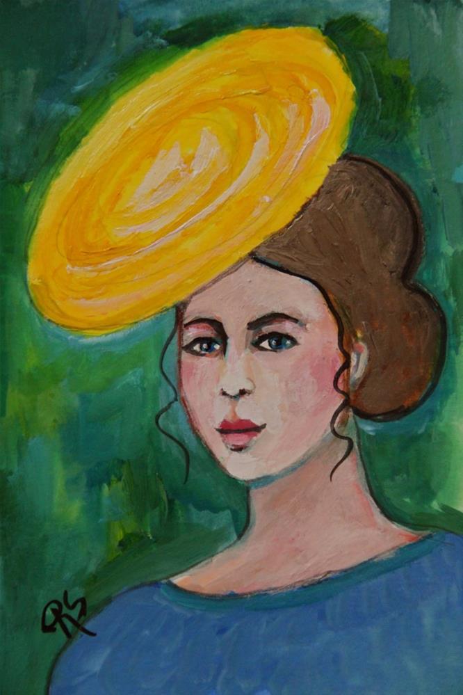 """""""Chelsea"""" original fine art by Roberta Schmidt"""