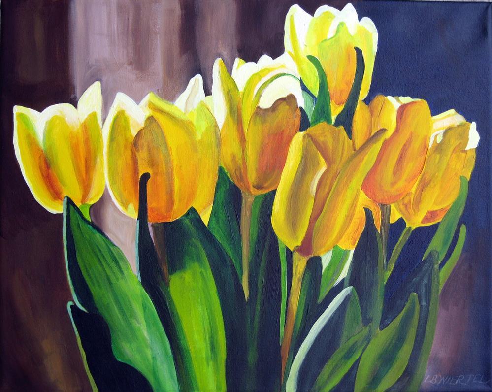 """Touch of Spring"" original fine art by Lisa Wiertel"