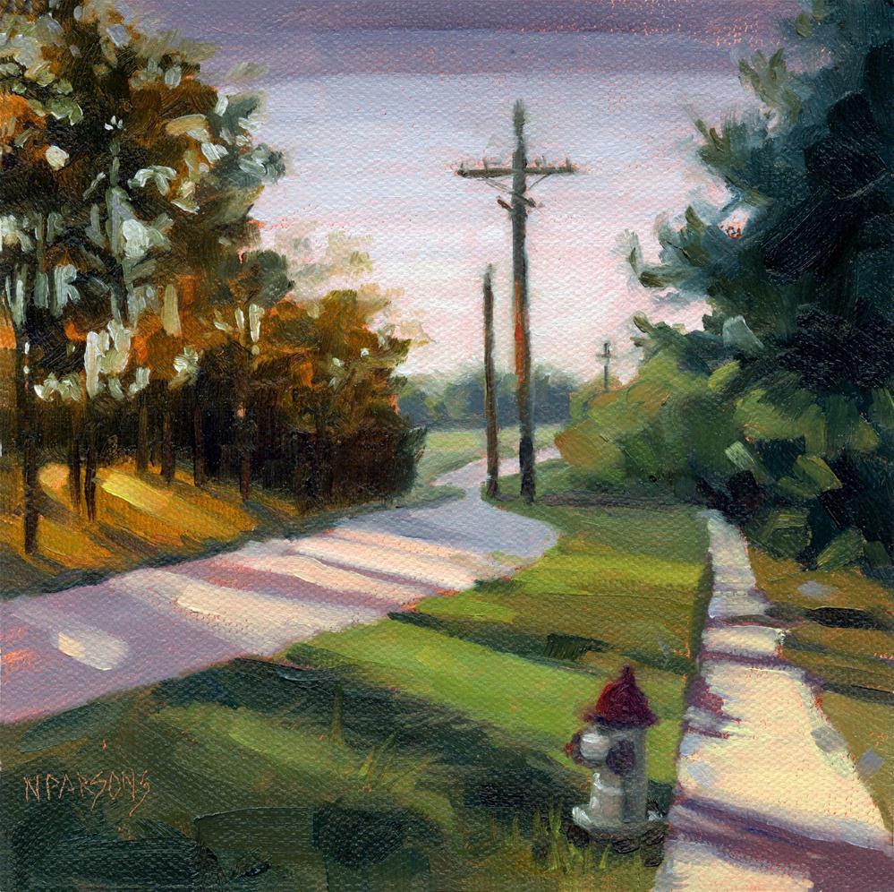 """""""Longmire Longing"""" original fine art by Nancy Parsons"""