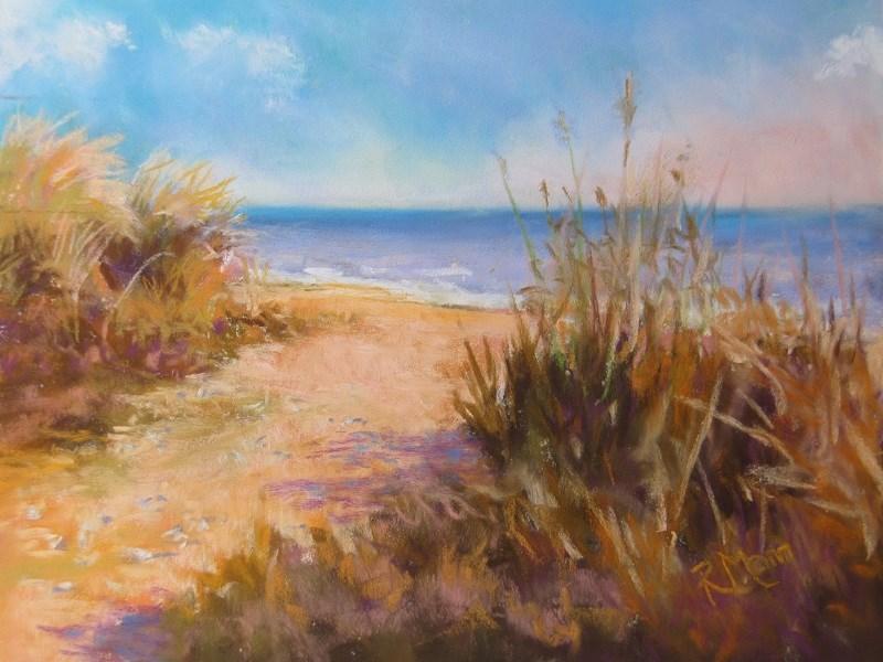 """""""Summer Dune"""" original fine art by Ruth Mann"""
