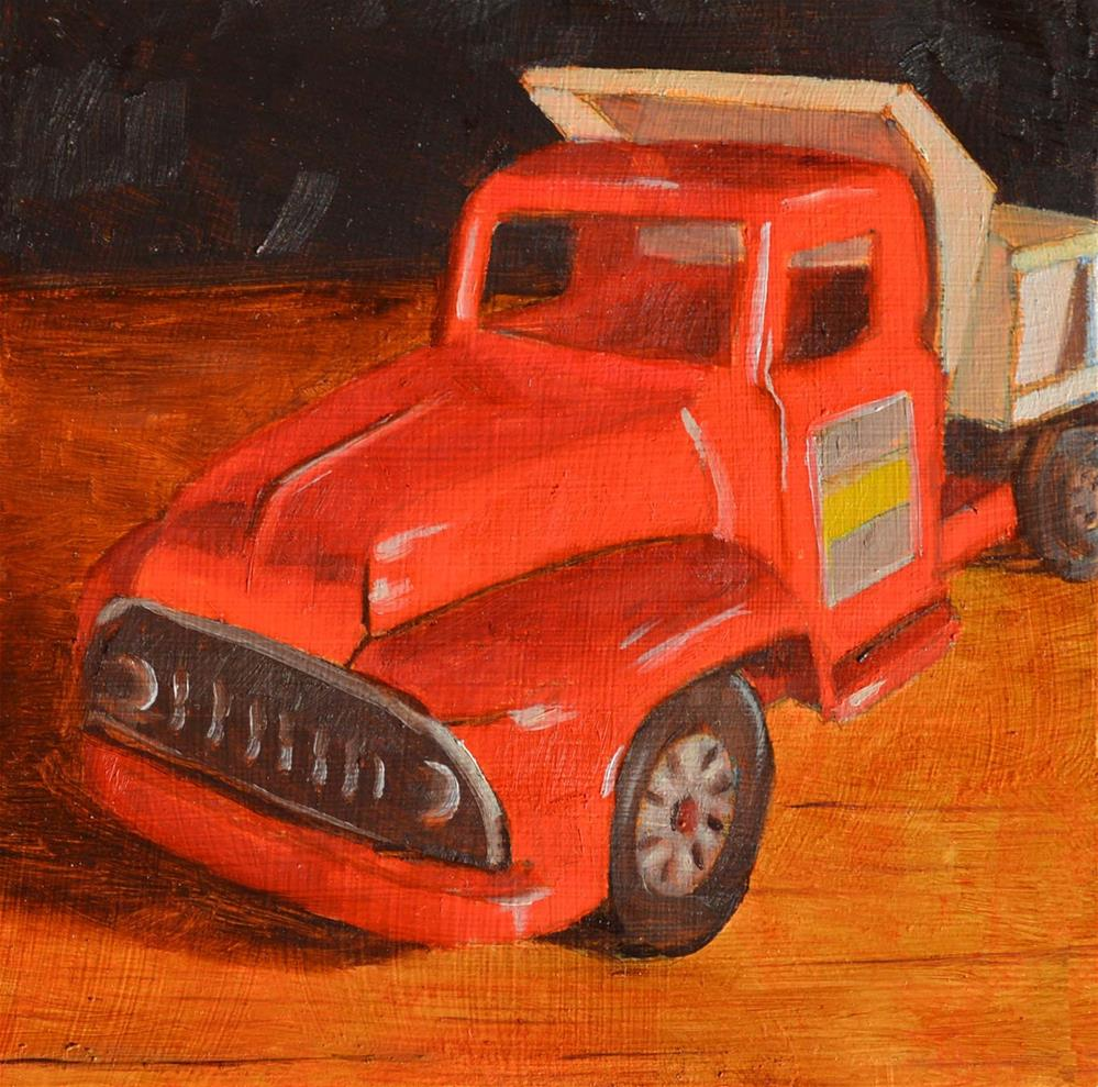 """Favorite Toy"" original fine art by Robert Frankis"