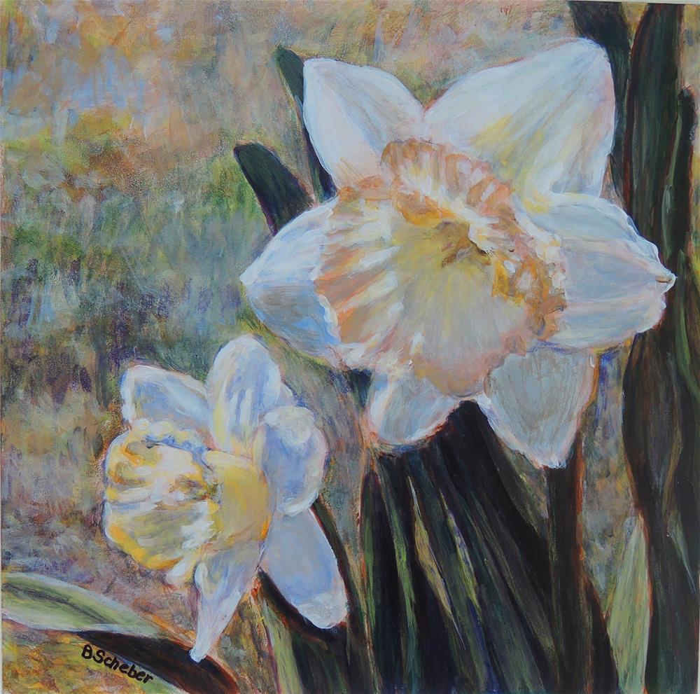 """""""Spring Glamour Study 3"""" original fine art by Belinda Scheber"""