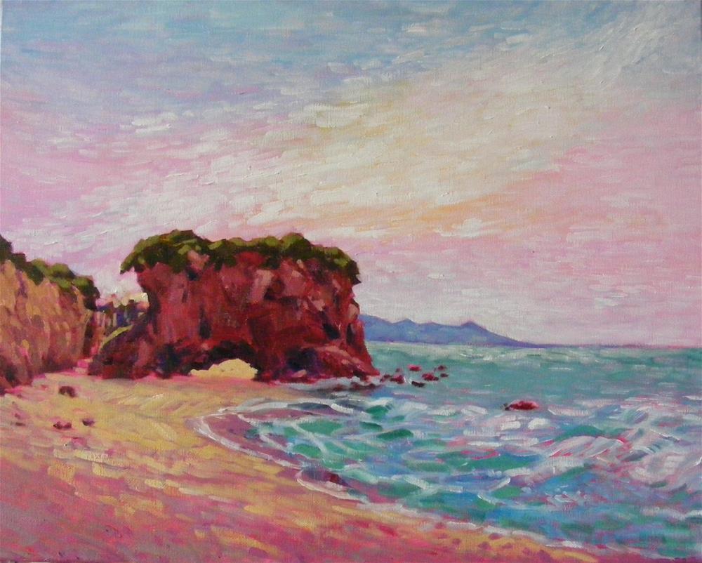 """Southern coast"" original fine art by Celine K.  Yong"