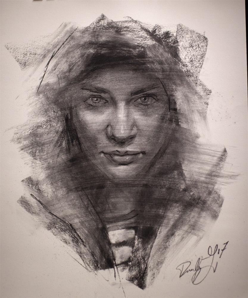 """In Profile No. 2"" original fine art by Dimitriy Gritsenko"