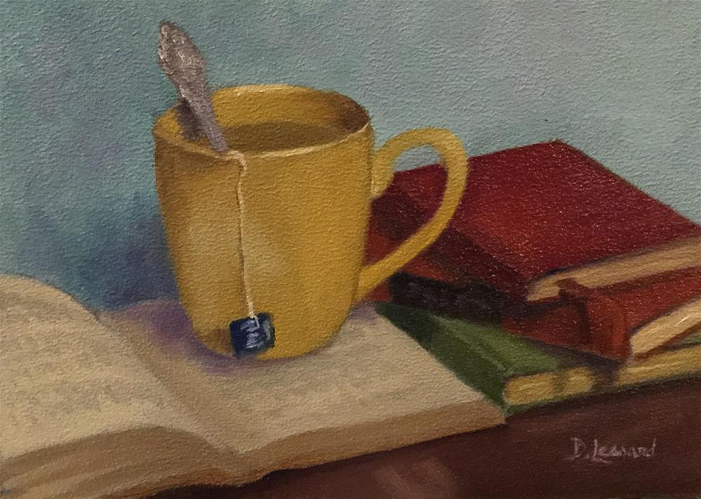 """""""Antique Kindle #1615"""" original fine art by Dee Lessard"""