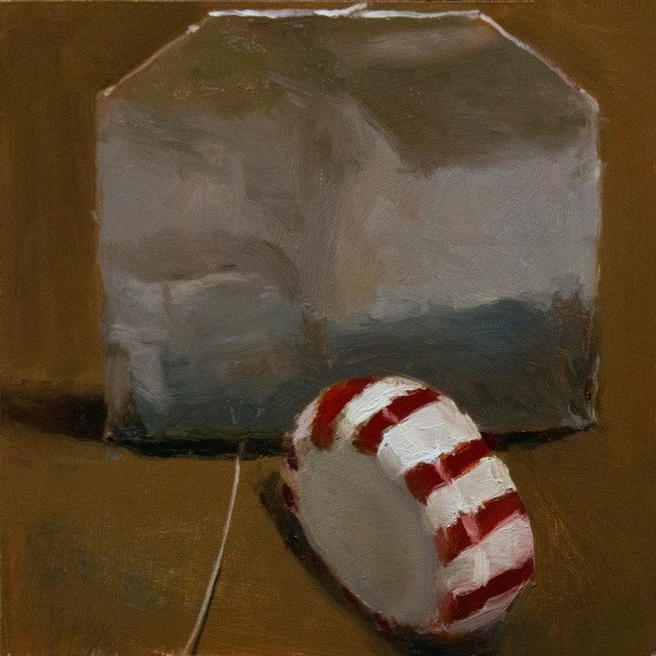 """Peppermint and Tea"" original fine art by Randall Cogburn"