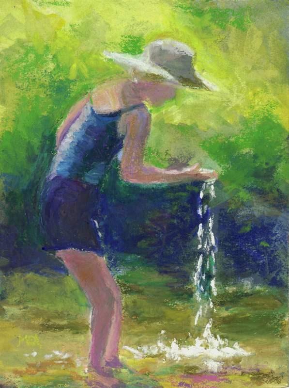 """This Magic Moment"" original fine art by Meredith Adler"