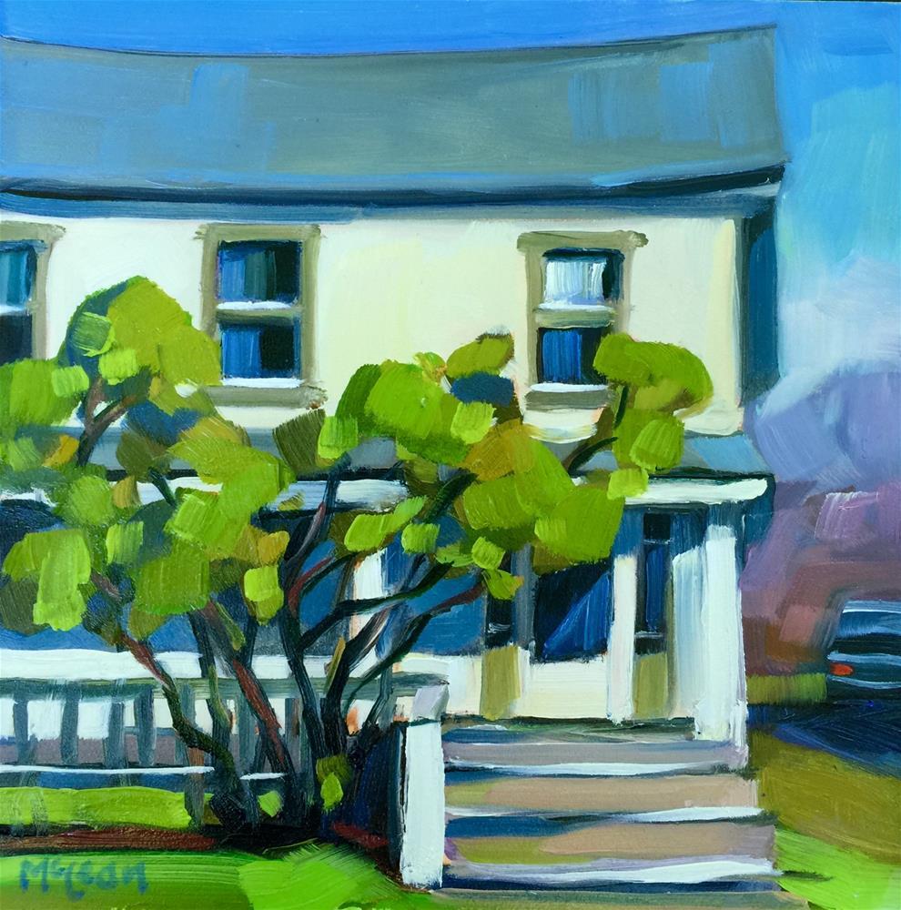 """Tivoli Two Story"" original fine art by Meg McLean"