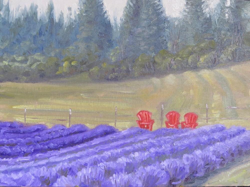 """Resting Spot"" original fine art by Richard Kiehn"