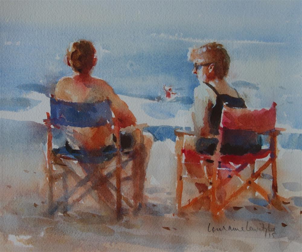 """Late Afternoon"" original fine art by Lorraine Lewitzka"
