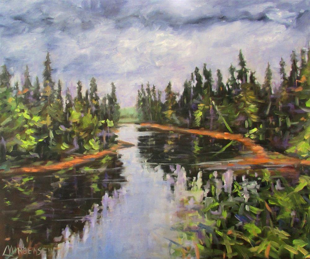 """20 x 24 inch oil"" original fine art by Linda Yurgensen"