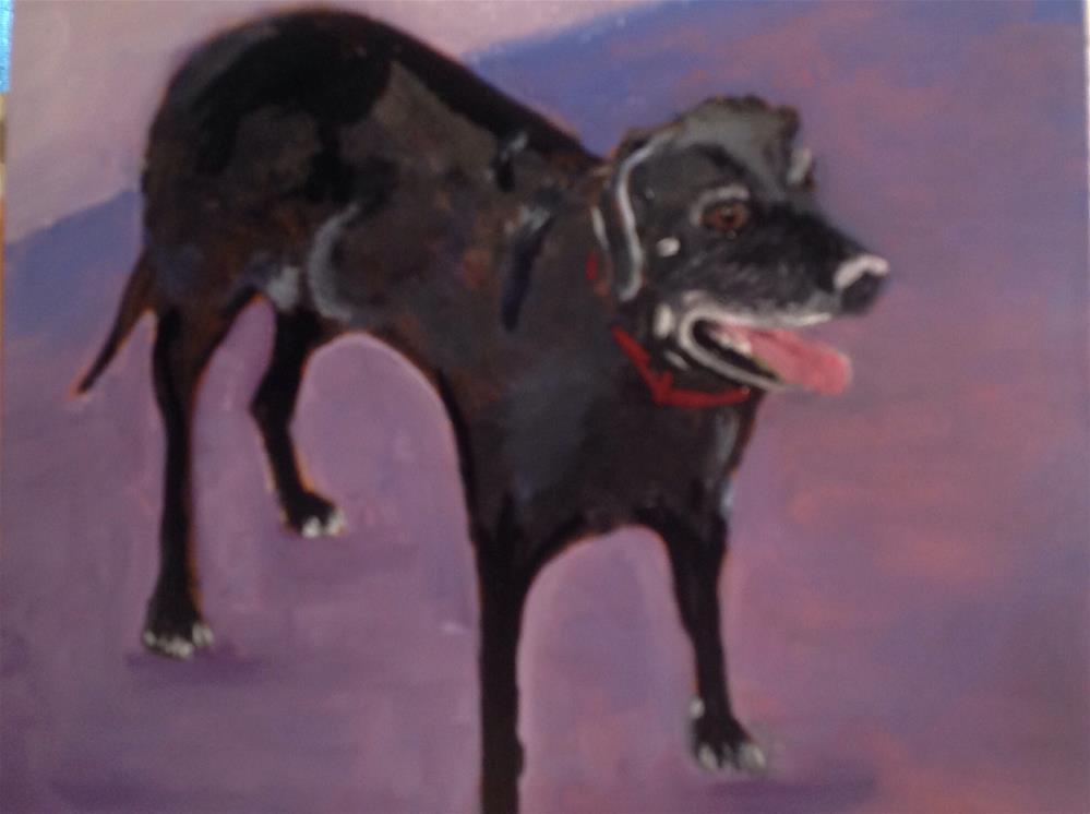 """Sadie"" original fine art by Lorraine Funk"