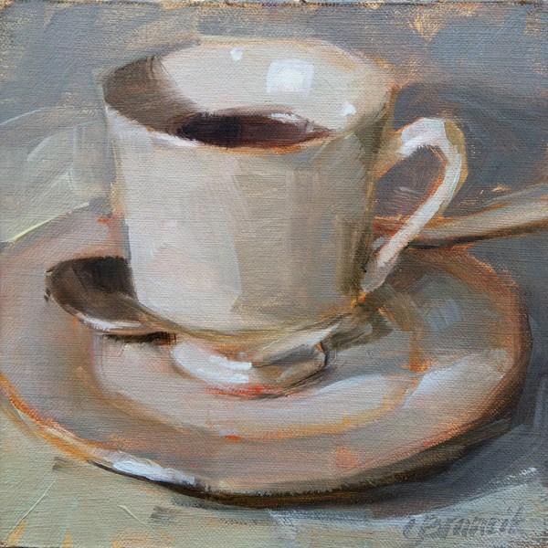 """Coffee, Black"" original fine art by Candace Brancik"