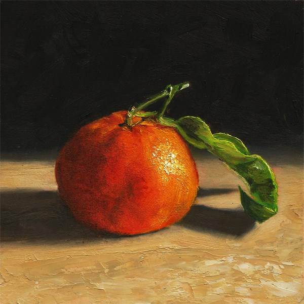 """Clementine #1"" original fine art by Peter J Sandford"