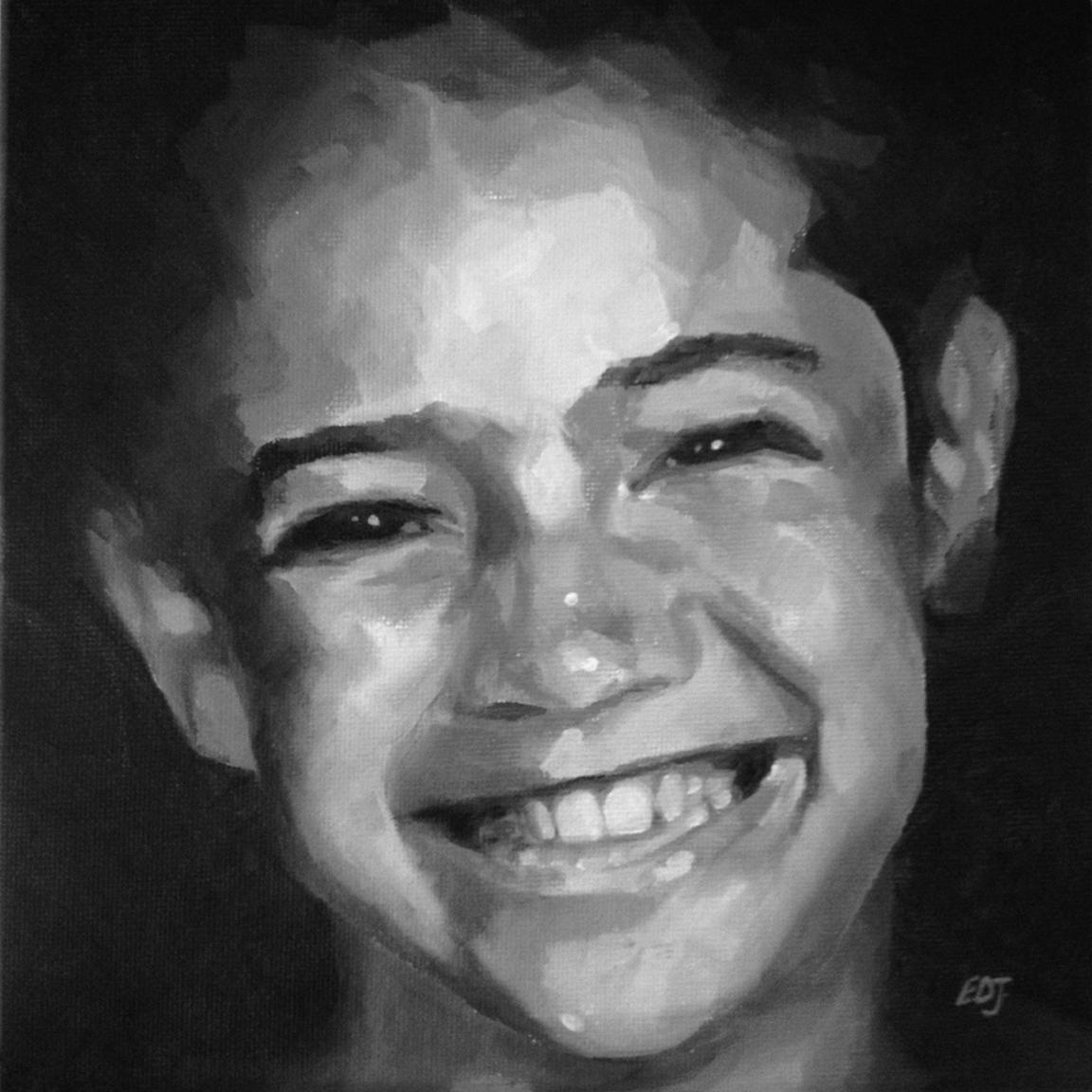 """""""#47 - Jacklyn"""" original fine art by Elizabeth Dawn Johnston"""