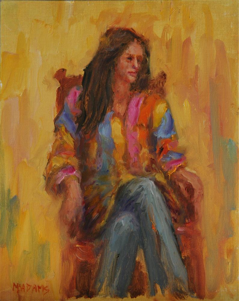 """Coat of many colors."" original fine art by Phyllis McAdams"