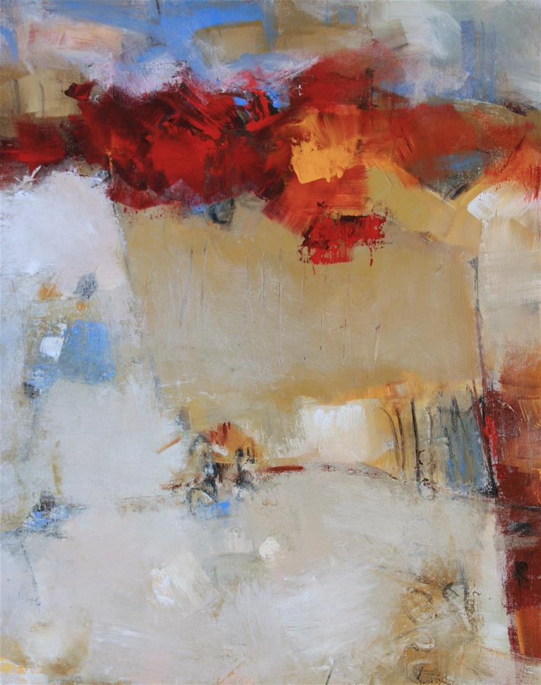 """Radiant"" original fine art by Elizabeth Chapman"