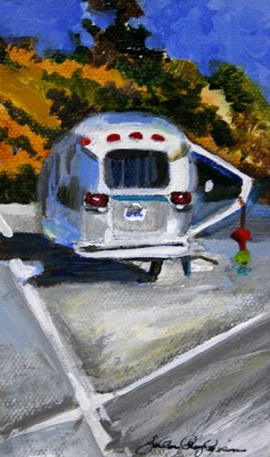 """Camp Spot"" original fine art by JoAnne Perez Robinson"