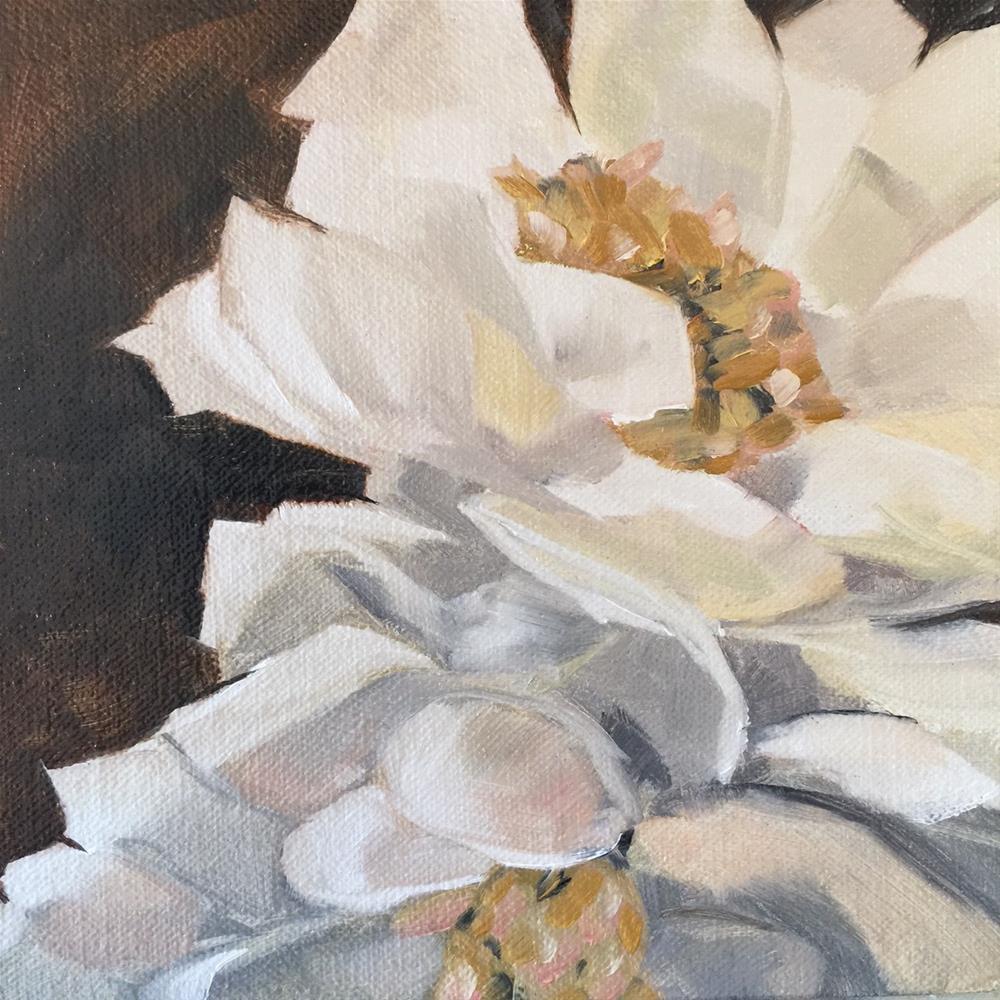 """""""381 Flores Para Todos"""" original fine art by Jenny Doh"""