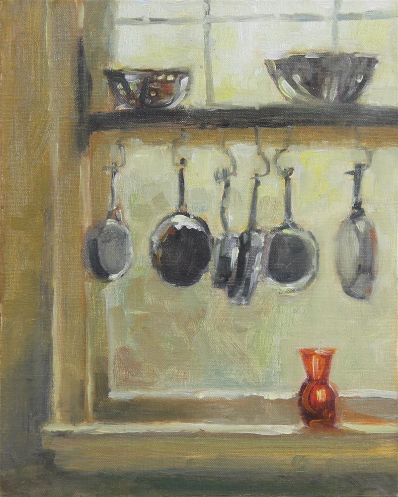 """In the Window"" original fine art by Colleen Parker"