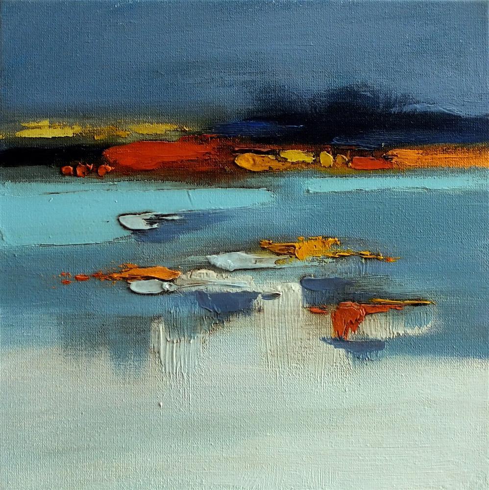 """Landscape 297"" original fine art by Ewa Kunicka"