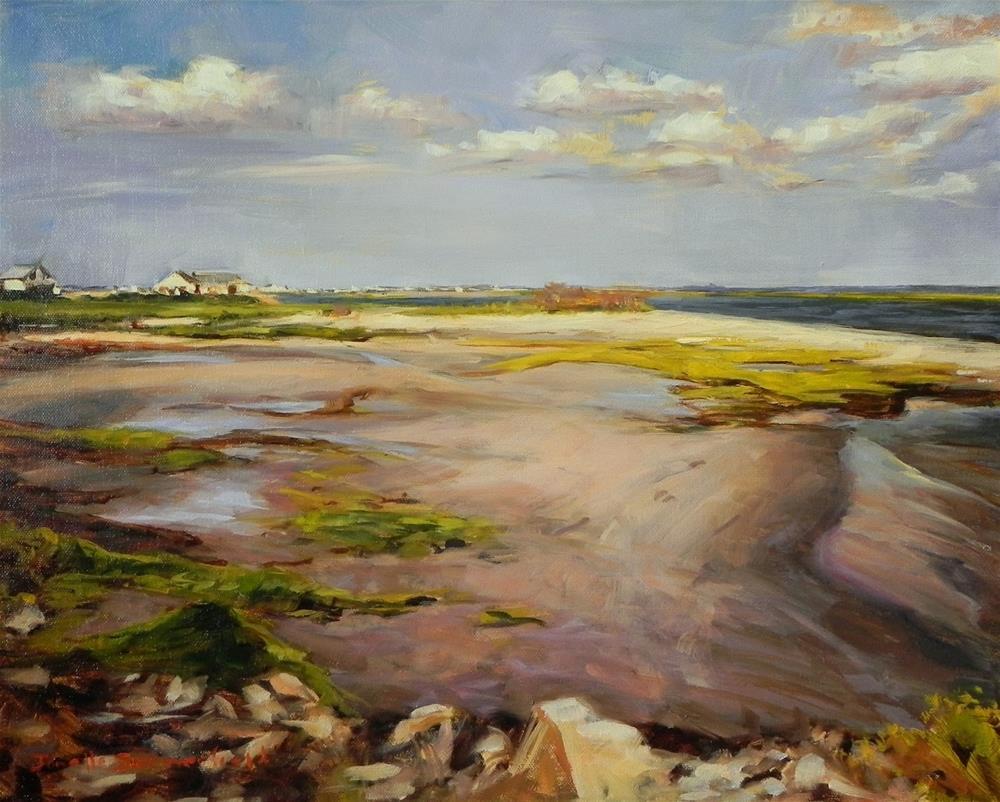 """""""Avalon Bay"""" original fine art by Jonelle Summerfield"""