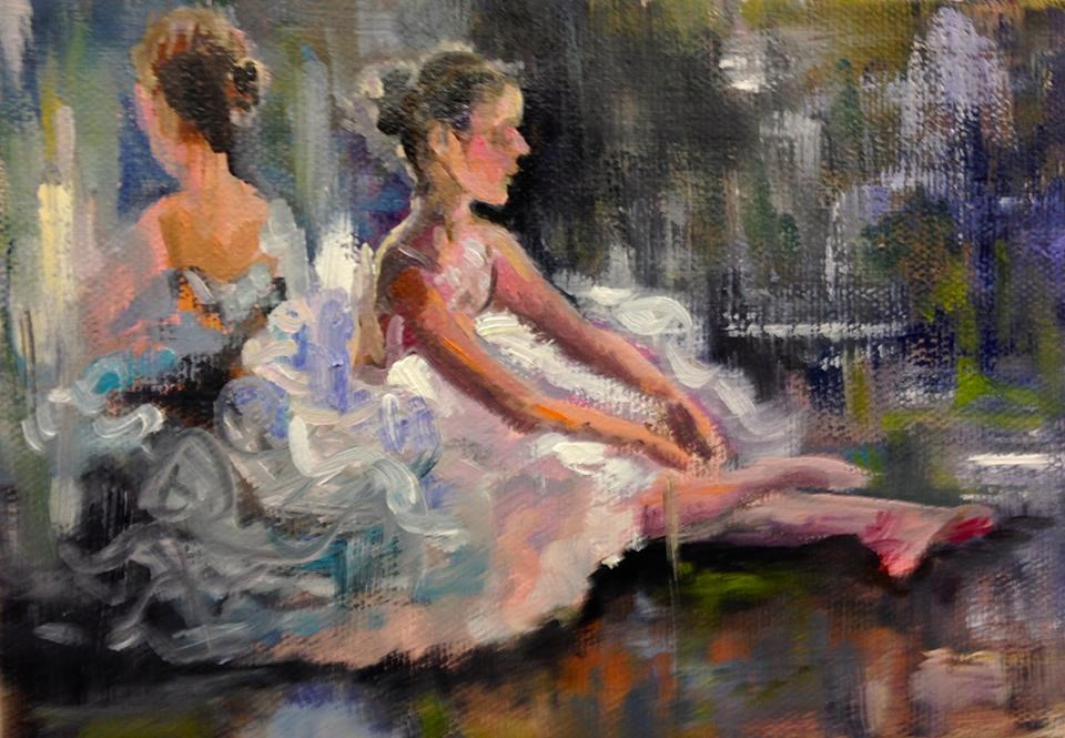 """WIN THIS PAINTING...I Hope You Dance"" original fine art by Linda Dunbar"