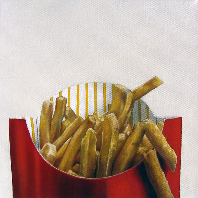 """Super Sized"" original fine art by Jelaine Faunce"