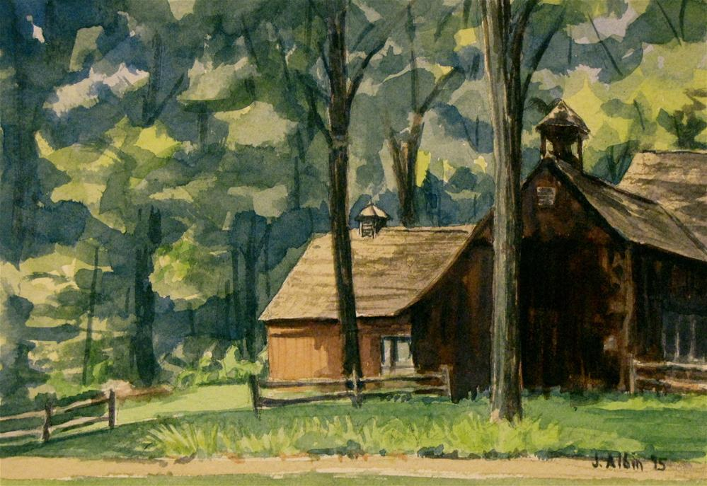 """Eric Sloan Museum"" original fine art by Jane Albin"
