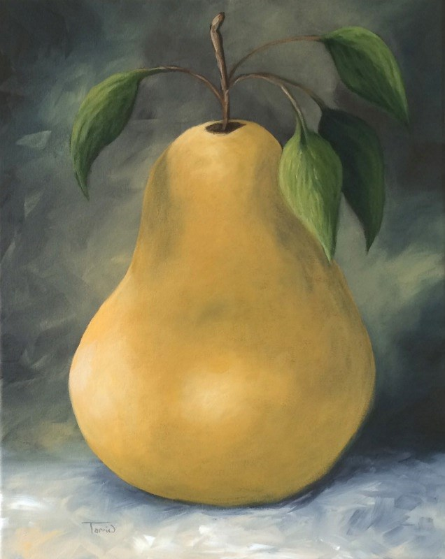 """The Treasured Pear"" original fine art by Torrie Smiley"