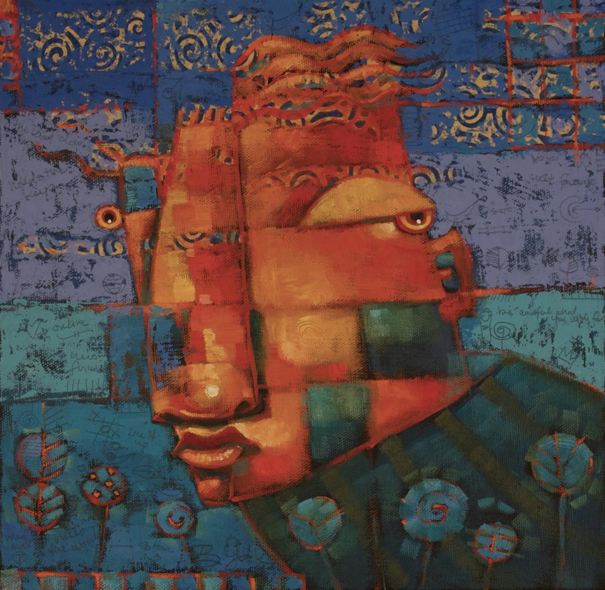 """RainMaker"" original fine art by Brenda York"
