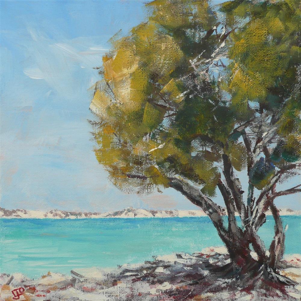 """Long Beach Summer"" original fine art by Leanne Owen"